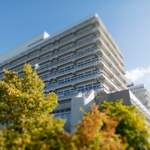 Ansicht Gebäude Pfaffenwaldring 57