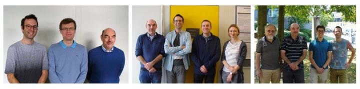 Fotos von Gästen und Mitgliedern des Lehrstuhls für Analysis und Modellierung